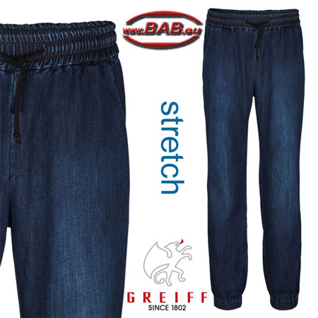 Greiff 53221 Herren Baggyhose mit Stretch für optimale Passform