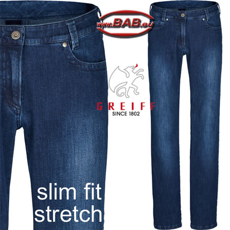 Greiff Casual 1375 Damen-Jeans in Regular Fit mit Stretch