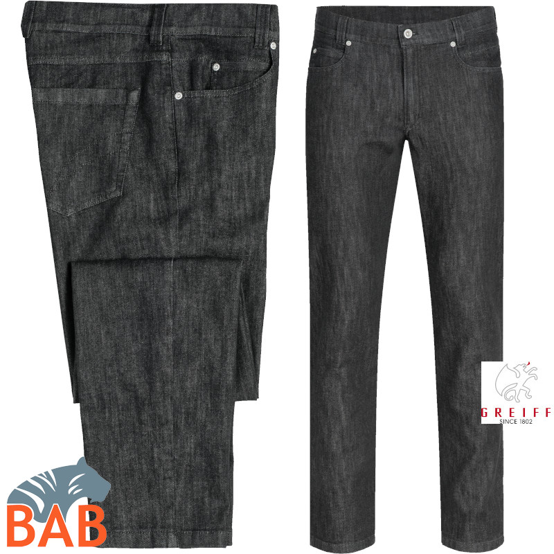 Greiff 13016 Herren Jeans in Five-Pocket-Form