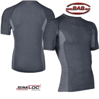 SIMLOC 1/2 Arm Funktions-Shirt anthrazit Einzelteil