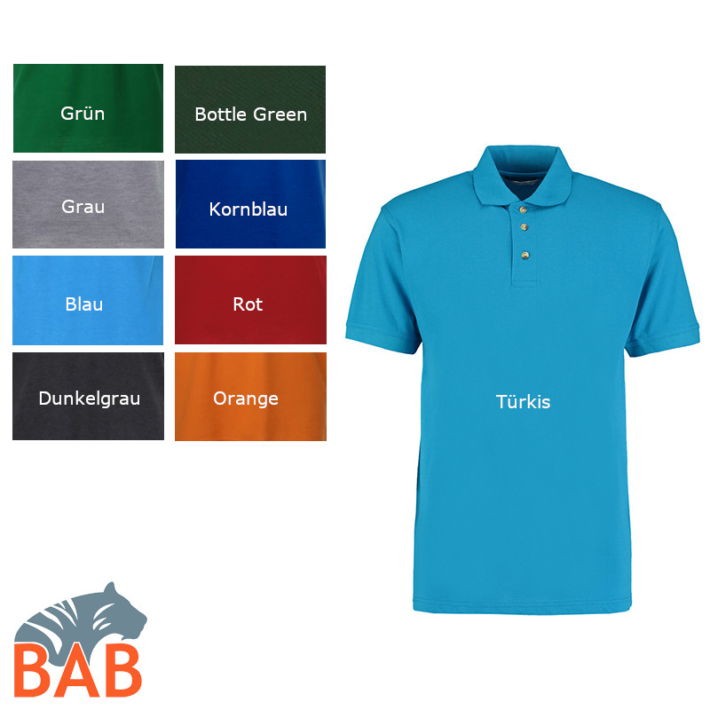 Workwear Polo Superwash grün Sonderangebot